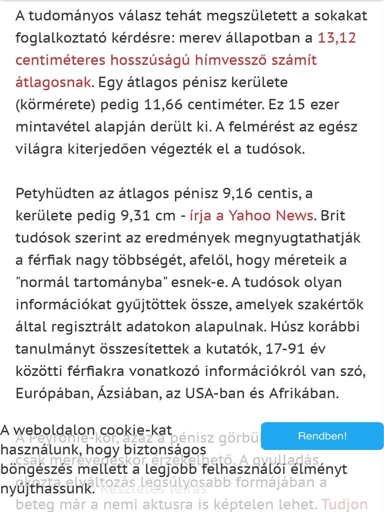 a pénisz hossza számít)