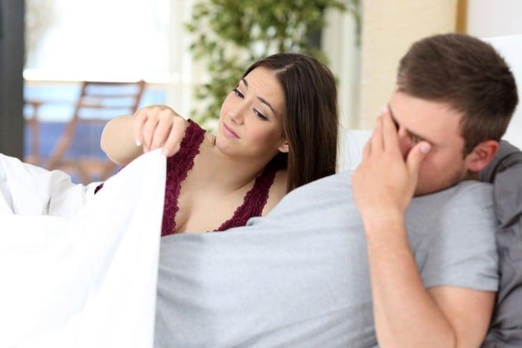 a férfiaknak merevedési problémái vannak