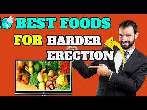 az erekciót fokozó ételek