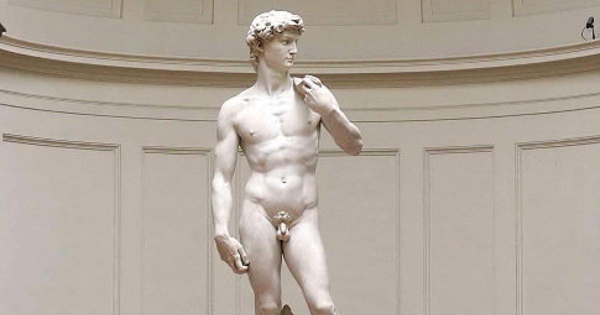 Miért ábrázolták az ókori görögök kicsi pénisszel a férfiakat?