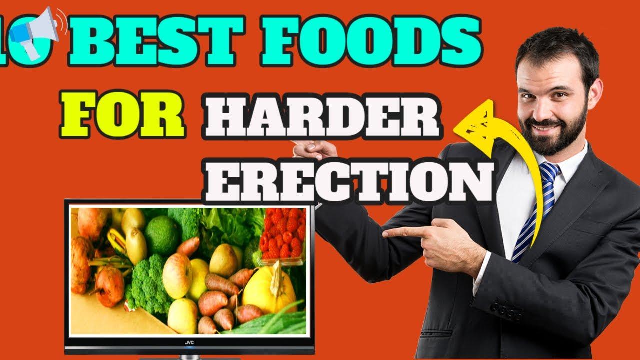 táplálék az erekció elősegítésére
