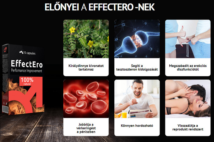 az erekció és a hatékonyság érdekében