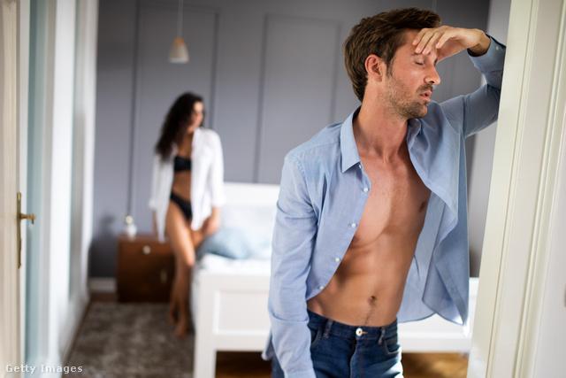 férfiaknál nincs merevedés, okai és kezelése
