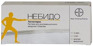 tesztoszteron injekciók a péniszbe)